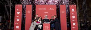CELEBRITES : Inauguration des Illuminations de Noel Champs Elysees - Paris - 11/22/2018