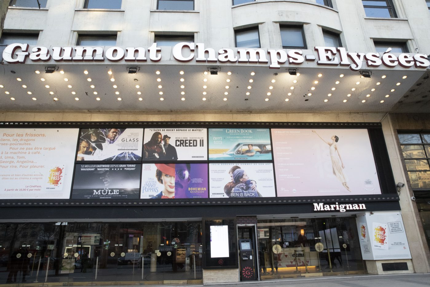 CINEMA GAUMONT CHAMPS-ELYSEES - CCE