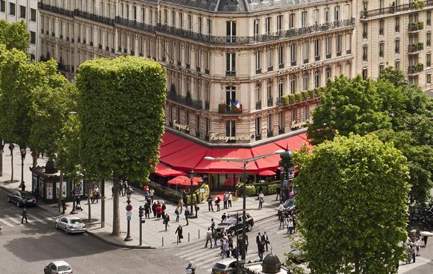 HÔTEL BARRIÈRE LE FOUQUET'S PARIS - CCE
